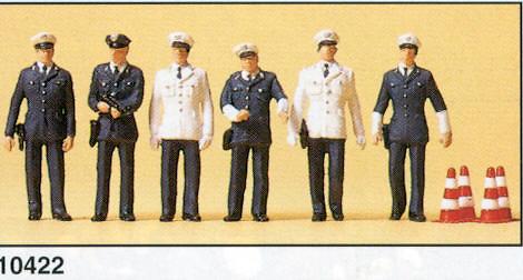 Figuras Policia Alemana BRD Preiser 10422 1/87