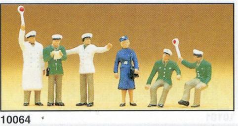 Figuras Policia Alemana Tráfico Preiser 10064 1/87