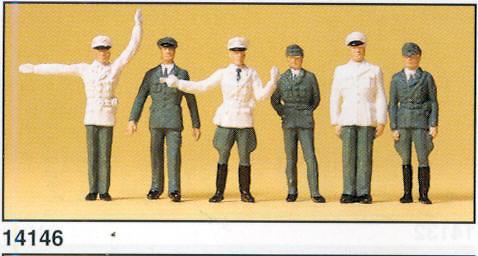 Figuras Policia BRD Preiser 14146 1:87
