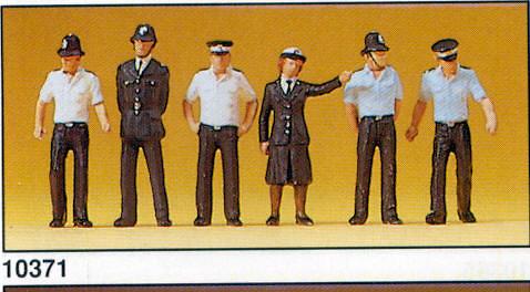 Figuras Policia Británica Preiser 10371 1/87