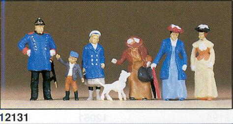 Figuras Policia con personajes (1900) Preiser 12131 1/87