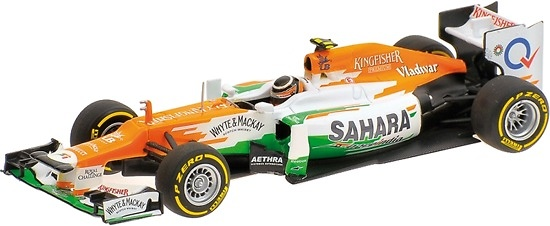 Force India VJM05 nº 12 Nico Hulkenberg (2012) Minichamps 410120012 1/43