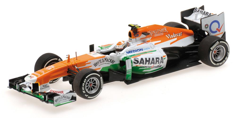 Force India VJM06 nº 15 Adrian Sutil (2013) Minichamps 410130015 1:43