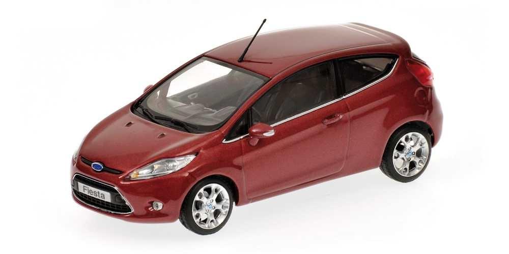 Ford Fiesta 3p. Serie VI (2008) Minichamps 400088001 1/43