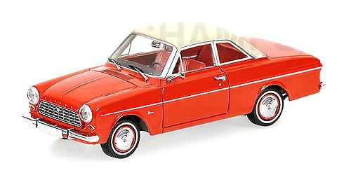 Ford Taunus 12M P4 Coupé (1962) Minichamps 400086120 1/43