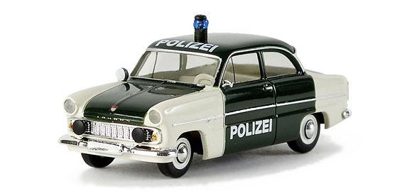 Ford Taunus 12M Polizei (1960) Brekina 1/87