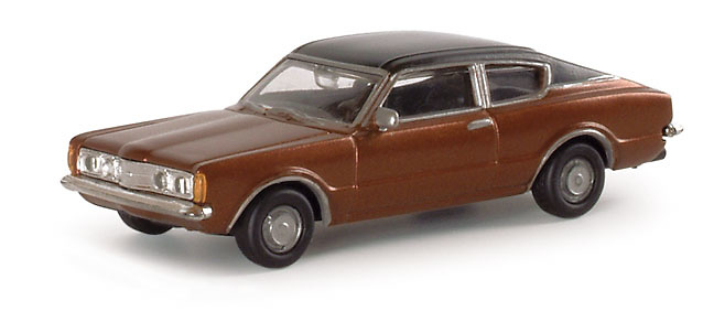 Ford Taunus 1600 Coupé (1970) Herpa 033398 1/87