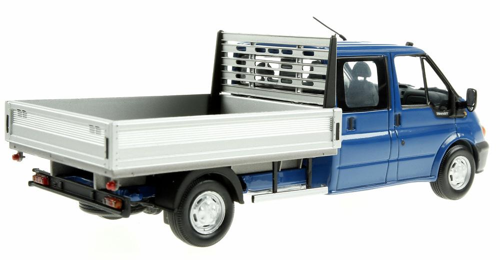 Ford Transit Doble Cabina con caja (2000) Minichamps 430089100 1/43