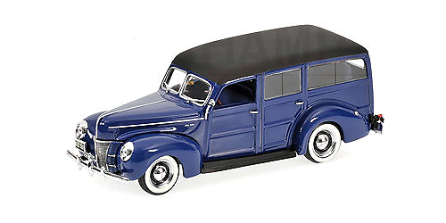 Ford V8 De Luxe Woody Station Wagon (1940) Minichamps 400082112 1/43