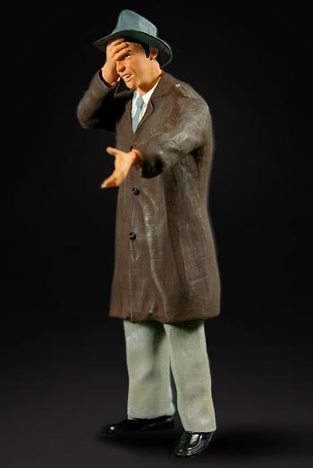 Hombre en Gasolinera Figurenmanufaktur 180012 1:18