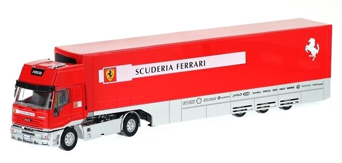 Iveco LD Transporte Oficial Ferrari (2002) Old Cars 1/43