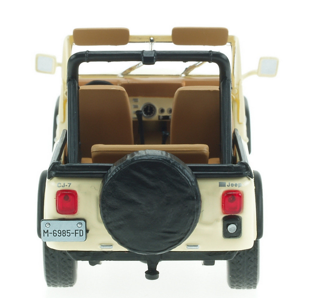 Jeep CJ-7 Laredo (1982) White Box WBS0001 1/43