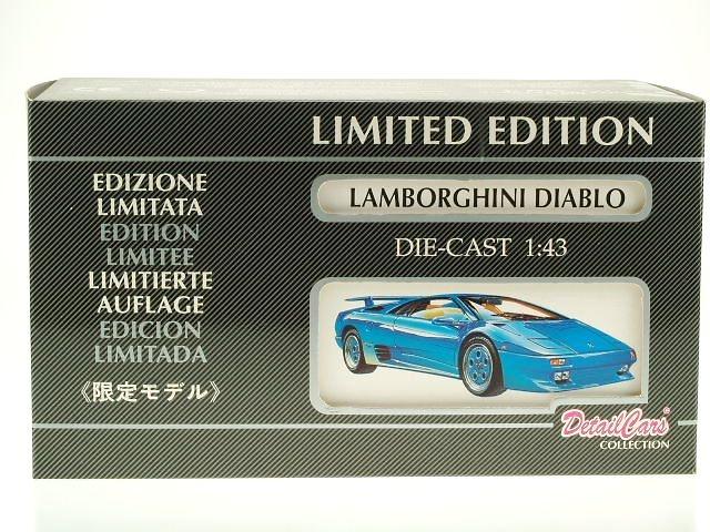 Lamborghini Diablo (1990) DetailCars 1001 1/43