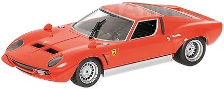 Lamborghini Miura P400 Jota SVR (1970) Minichamps 400103680 1/43