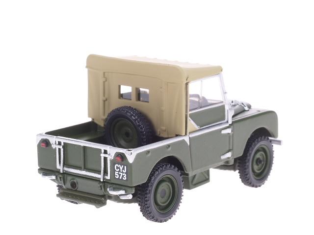 Corgi LRLand Rover Serie I 80 (60 Aniversario) Set de 2 u. (1953) Corgi LR3002 1/433002