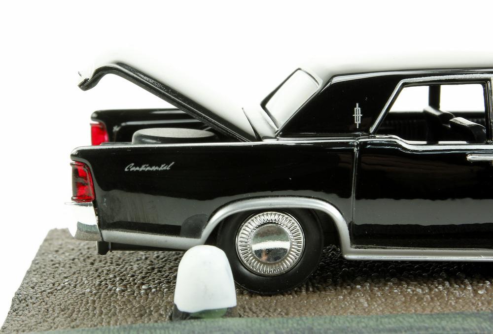 lincoln continental 1965 james bond goldfinger fabbri 1 43 entrega 48. Black Bedroom Furniture Sets. Home Design Ideas