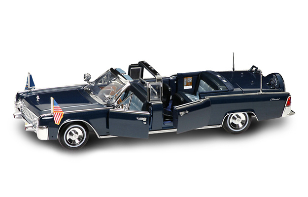 lincoln continental x 100 kennedy 1961 lucky die cast 24048 1 24. Black Bedroom Furniture Sets. Home Design Ideas