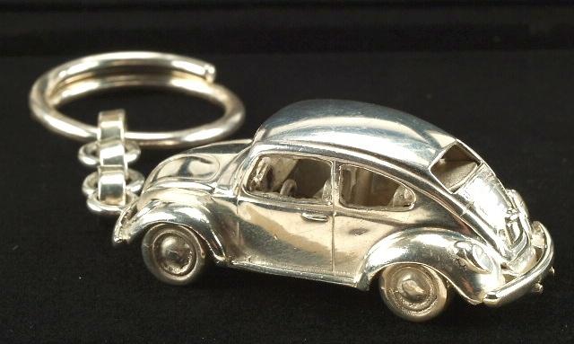 Llavero Volkswagen Escarabajo Plata de 1ª Ley