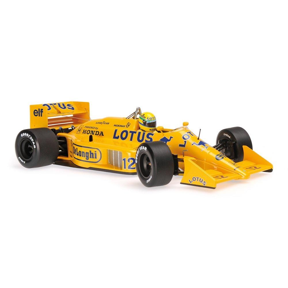 Lotus 99T nº12 Ayrton Senna (1987) Minichamps 540871812 1:18