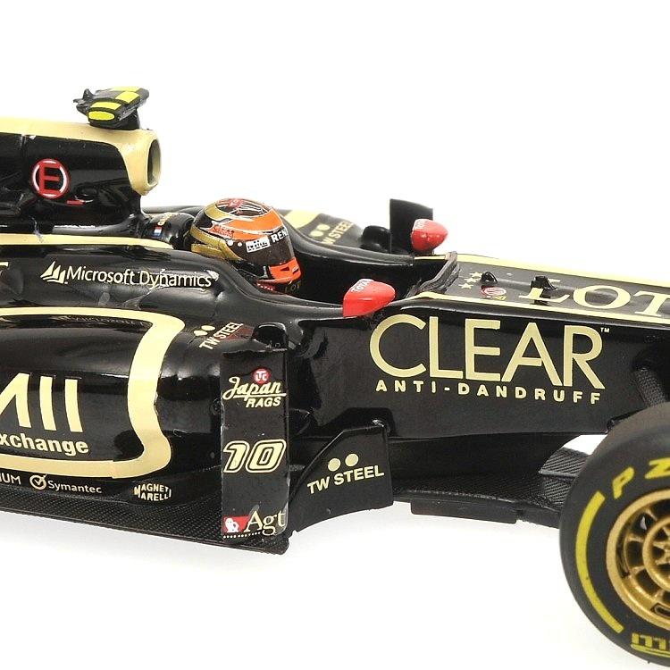 Lotus E20 nº 10 Romain Grosjean (2012) Minichamps 410120010 1/43