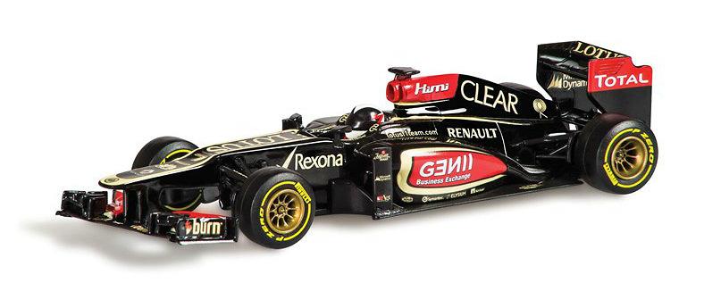 Lotus E21 nº 7 Kimi Raikkonen (2013) Corgi 1/43