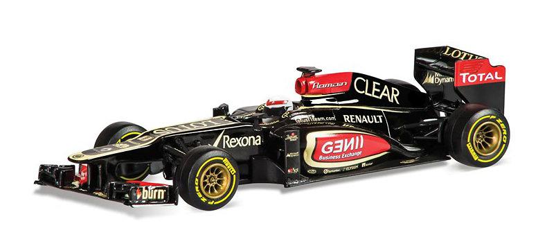 Lotus E21 nº 8 Romain Grosjean (2013) Corgi 1/43