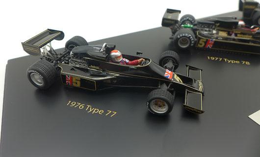 Lotus JPS tipo 77 - 78 - 79 firmado por Mario Andretti (1976-79) True Scale TSM11SS3 1/43