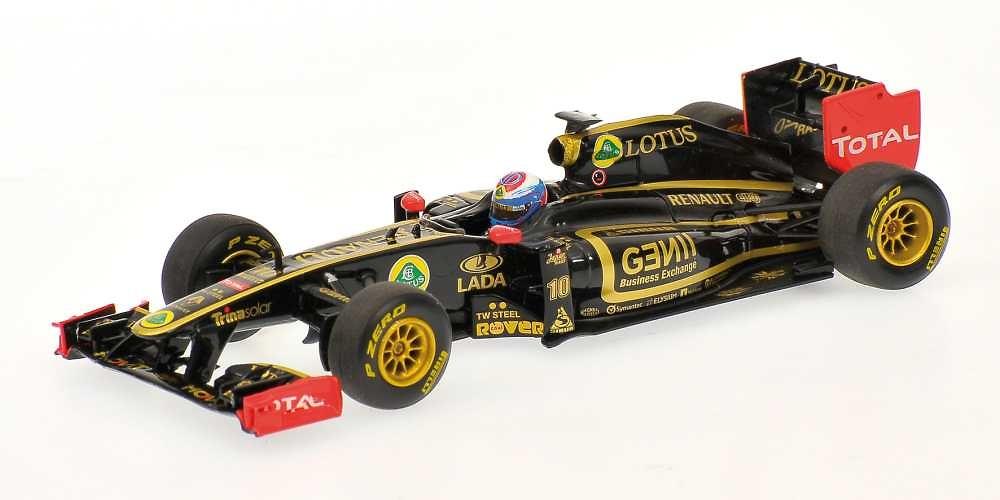 Lotus R31 nº 10 Vitaly Petrov (2011) Minichamps 1/43