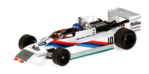 March 792 BMW F2 nº 10 Hans Joachim Stuck (1979) Minichamps 400790010 1/43