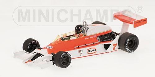 McLaren M26 nº 7 James Hunt (1978) Minichamps 1/43