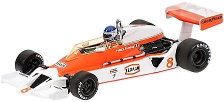 McLaren M26 nº 8 Patrick Tambay (1978) Minichamps 1/43