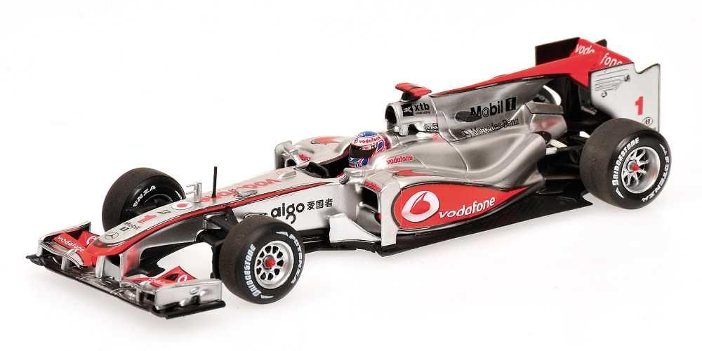 McLaren MP4-25 nº 1 Jenson Button (2010) Minichamps 530104301 1/43