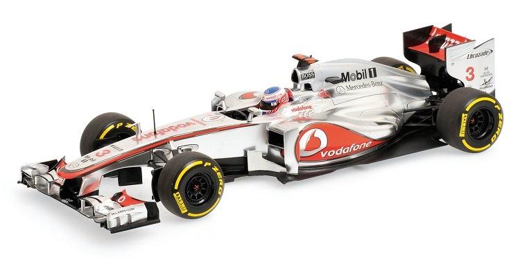McLaren MP4-27 nº 3 Jenson Button (2012) Minichamps 1:18