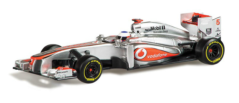 McLaren MP4-28 nº 5 Jenson Button (2013) Corgi CC56701 1:43