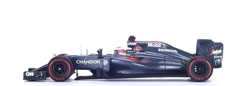 McLaren MP4-31 nº 22 Jenson Button (2016) Spark S5012 1:43