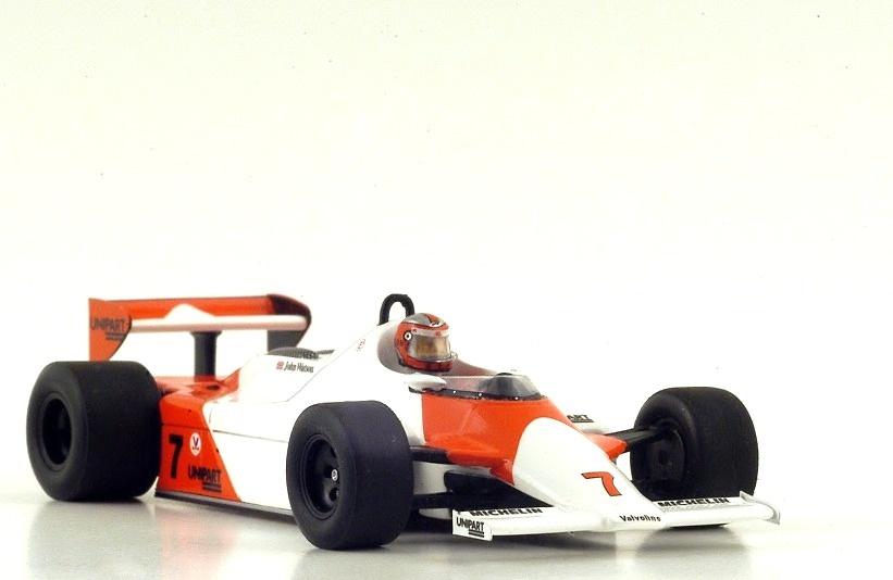 McLaren MP4/1 n°7 1º