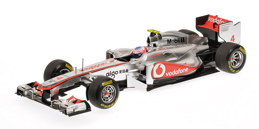 McLaren MP4/26 nº 4 Jenson Button (2011) Minichamps 1/18