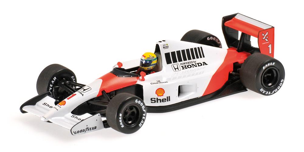McLaren MP4/6 nº 1 Ayrton Senna (1991) Minichamps 540914301 1:43