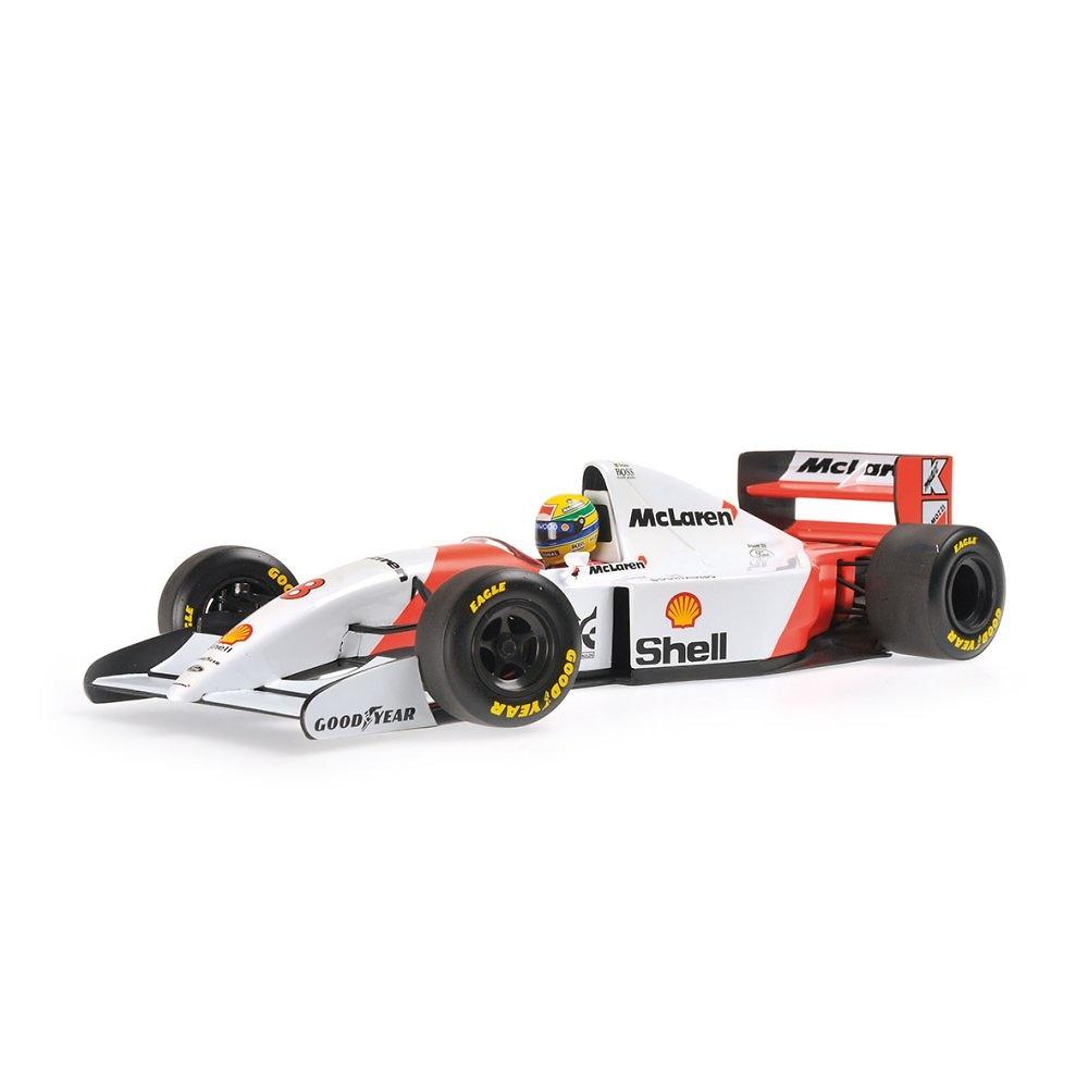 McLaren MP4/8 nº 8 Ayrton Senna (1993) Minichamps 540931808 1/18