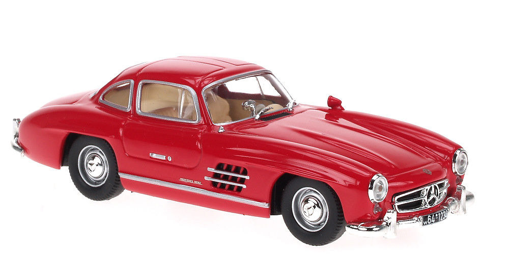 Mercedes 300 SL -W198- (1954) White Box 1:43