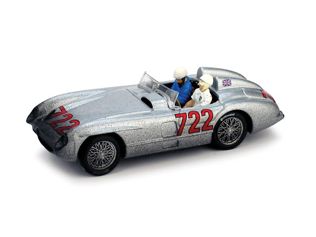 Mercedes 300SLR 1° Mille Miglia nº 722 Moss-Jekinson