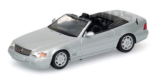 Mercedes Benz 500SL Cabrio -R129- (1999) Minichamps 400033031 1/43