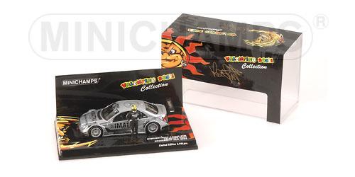 Mercedes Benz Clase C AMG -W203- (DTM 2006) Test Hochenheim V. Rossi Minichamps 436063646 1/43
