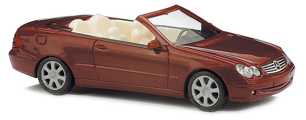 mercedes benz clase clk cabrio w209 2003 busch 49400 1 87. Black Bedroom Furniture Sets. Home Design Ideas