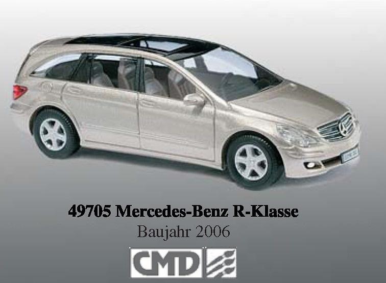 Mercedes Clase R (2006) Serie CMD Busch 49705 1/87