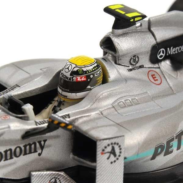 Mercedes MGP W01 #4 N. Rosberg (2010) Minichamps 1/43