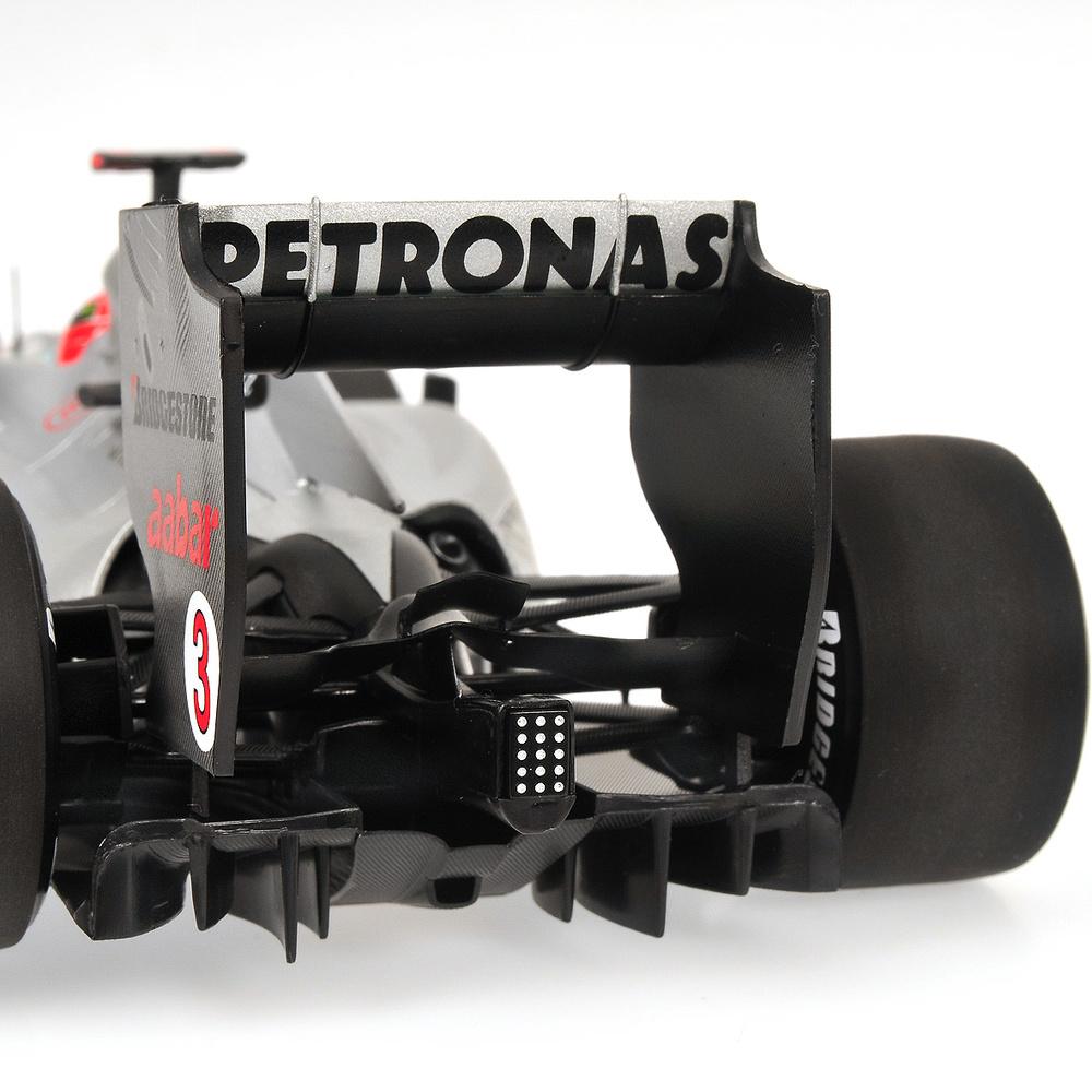 Mercedes W01 nº 3 Michael Schumacher (2010) Minichamps 110100003 1/18