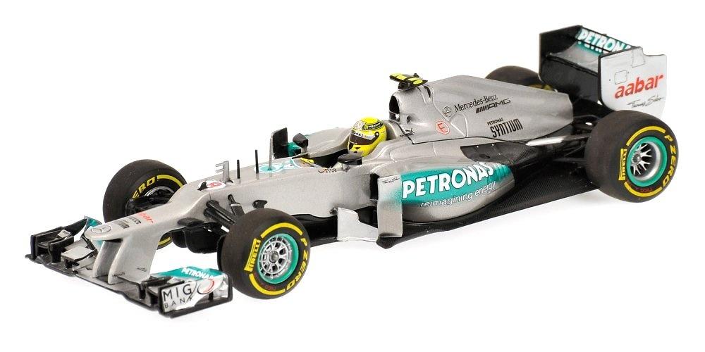 Mercedes W03 nº 8 Nico Rosberg (2012) Minichamps 1/43