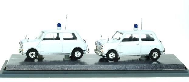 Mini Set Policia Metropolitana Tráfico Corgi MP1002 1/43