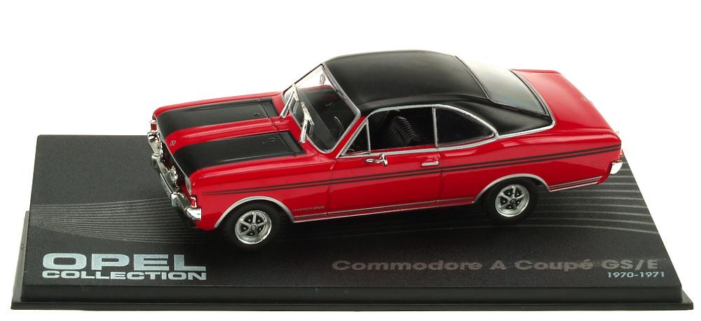 Opel Commodore A Coupé GS/E (1970) Ixo 1/43 Eaglemoos Publications